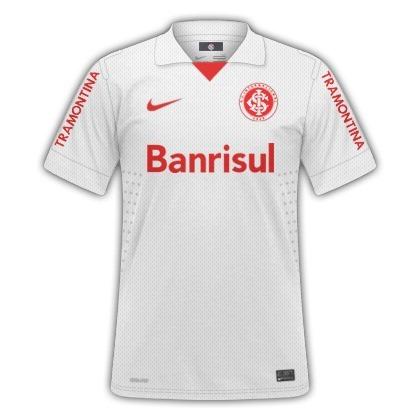 Camisa Nike Internacional Oficial Jogador Branca - R  98 659737318369d