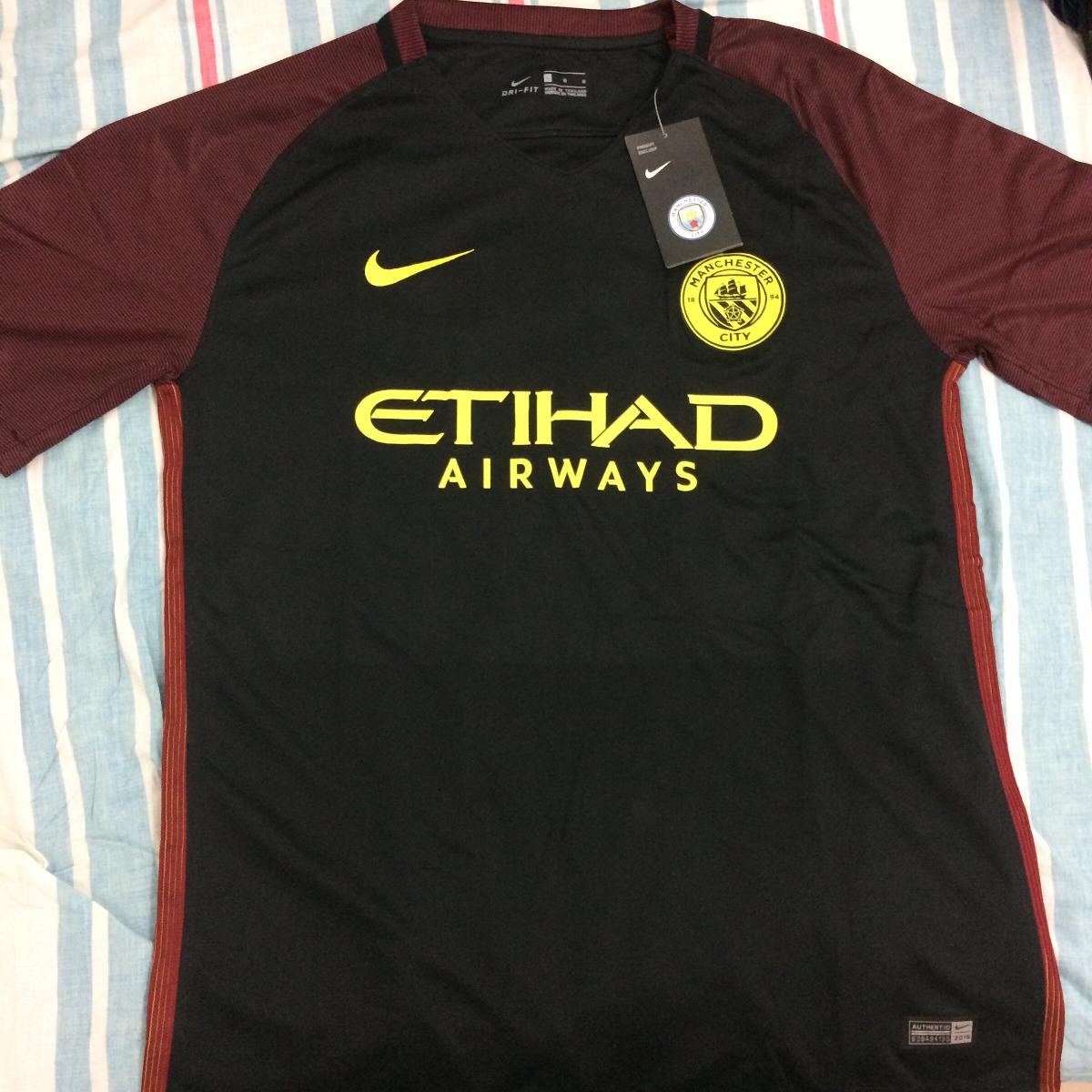 97cfb41ab7757 Camisa Nike Manchester City 16 17 - Sem Personalização - R  149