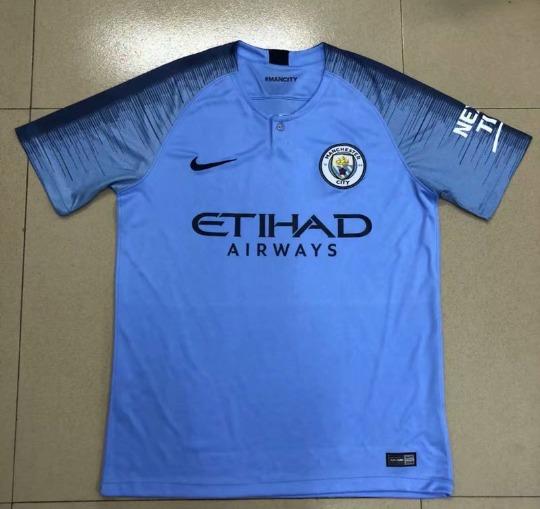 2c19b195f Camisa Nike Manchester City I 2018 19 Torcedor Masculina - R  119
