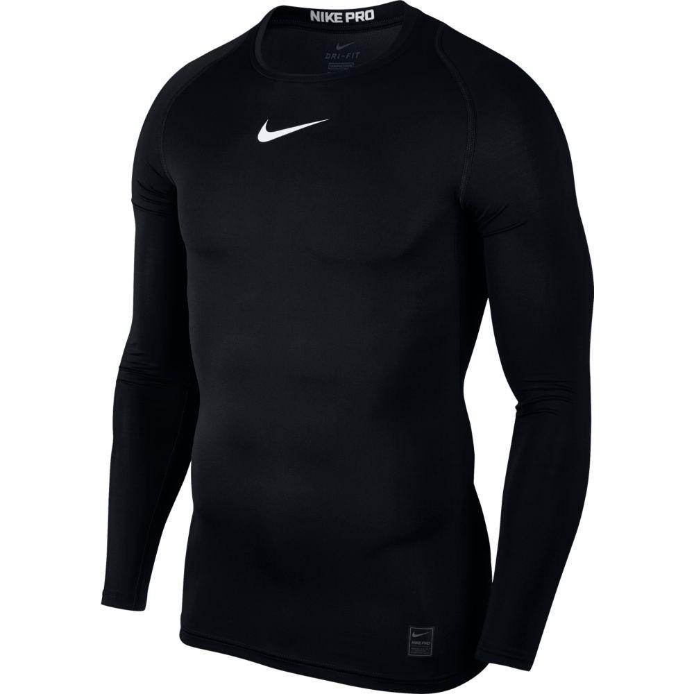 camisa nike manga longa core termica top ls compressao preta. Carregando  zoom. cb2575b75a358