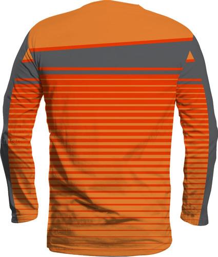 camisa nike manga longa proteção uv 50 esporte academia 1