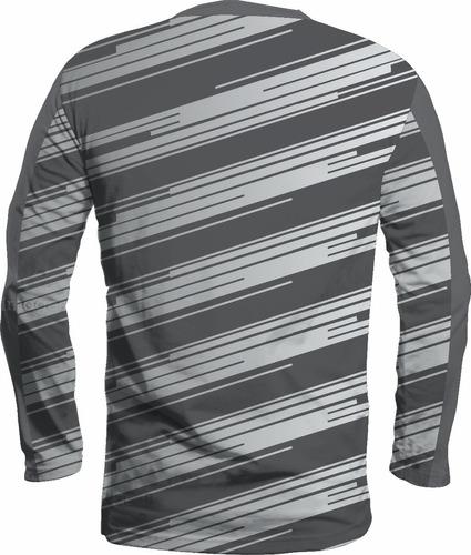 camisa nike manga longa proteção uv 50 esporte academia 2