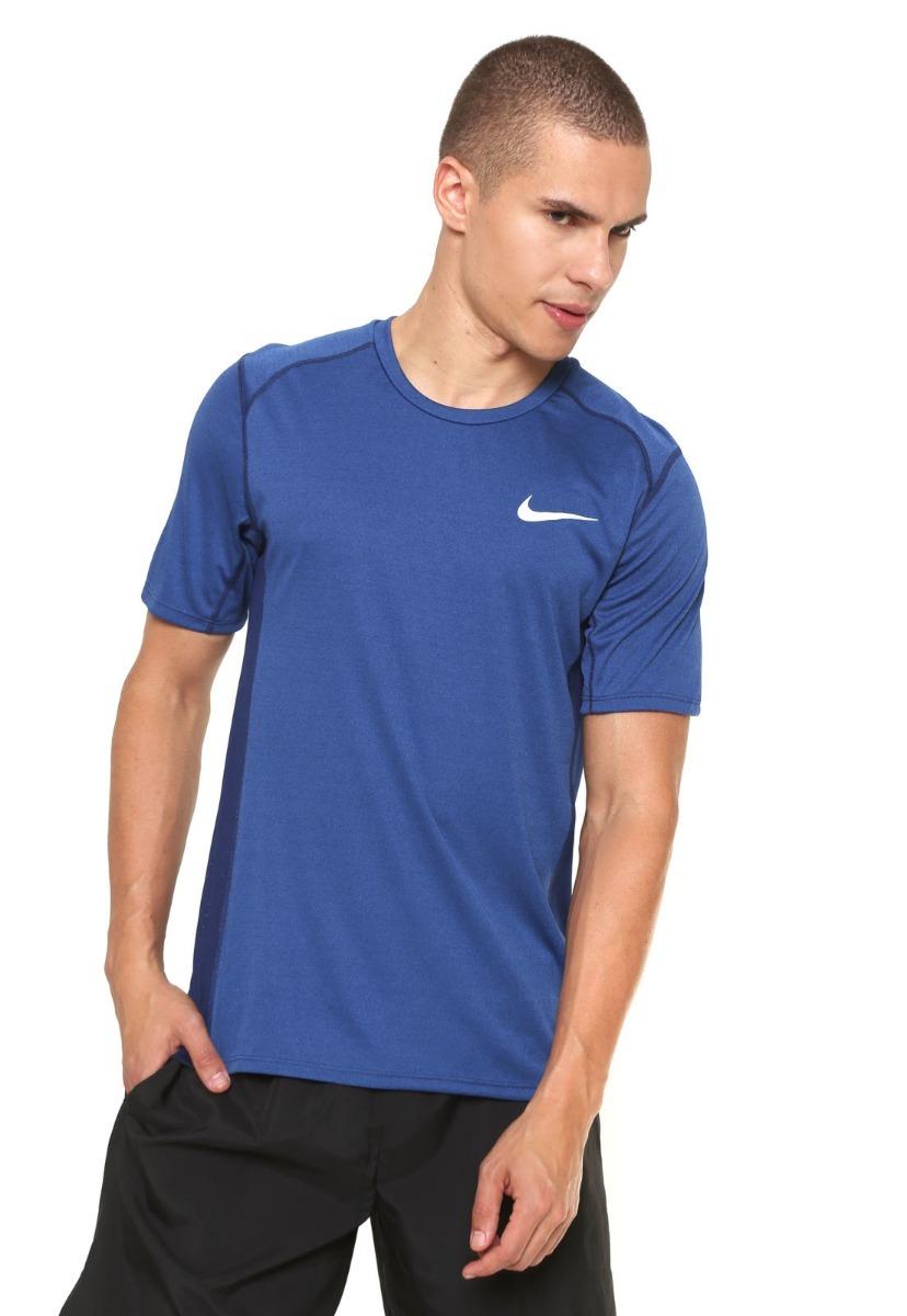 camisa nike masculina miler 833591 original nf azul. Carregando zoom. fc4ca6af3d262