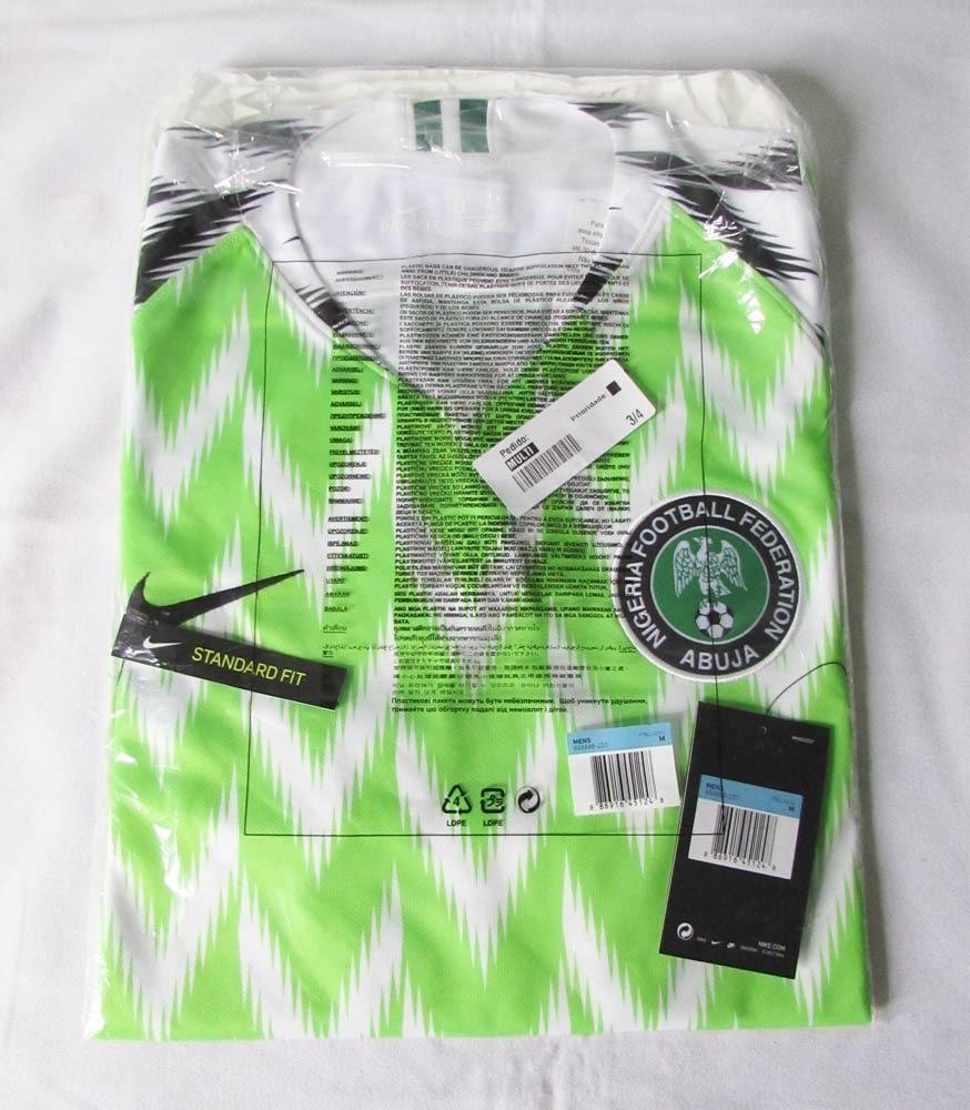 1066f106cb Camisa Nike Nigéria I Home Copa Do Mundo 2018 Autentica - R  479