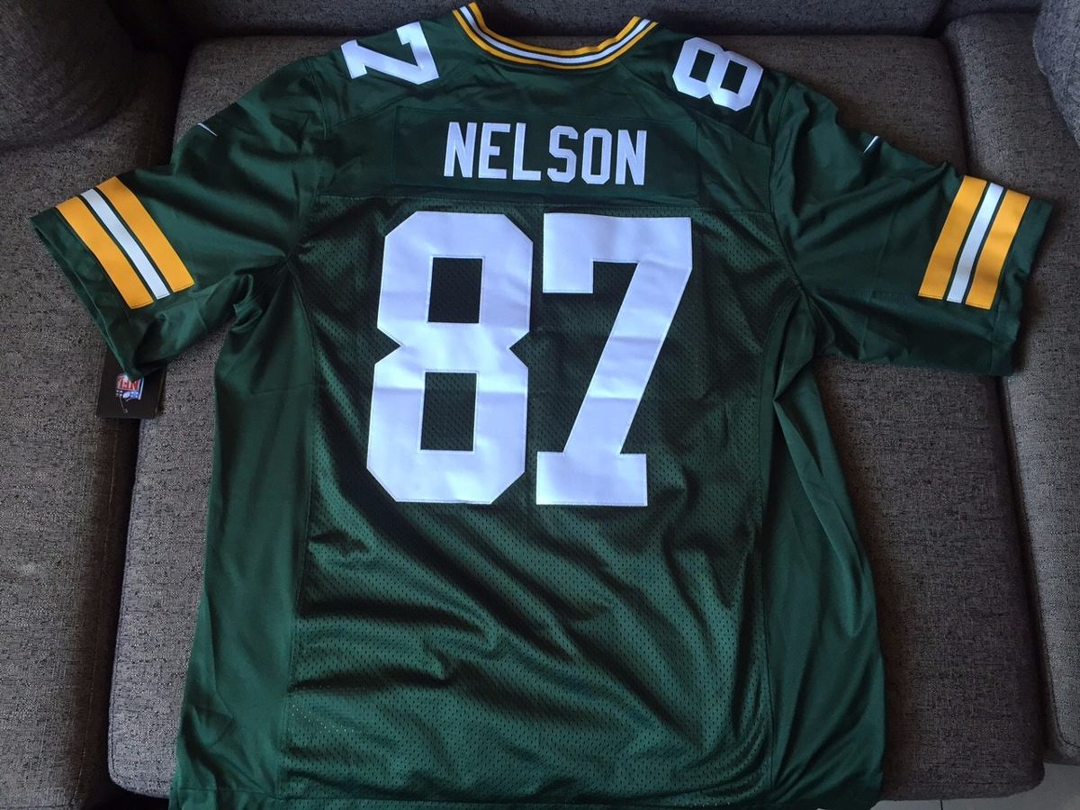 camisa nike oficial nfl - green bay packers jordy nelson 87. Carregando  zoom. 72be1c03b335d