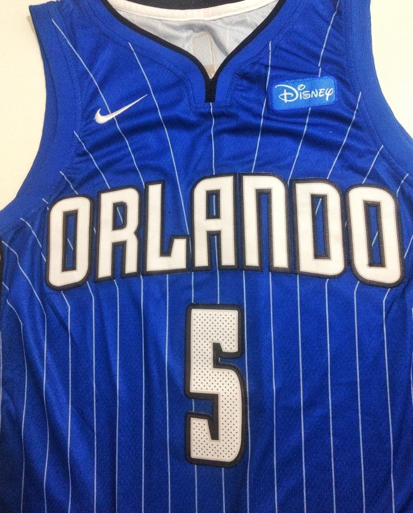 new style e949e c79ac Camisa Nike Orlando Magic Gordon Bamba Azul