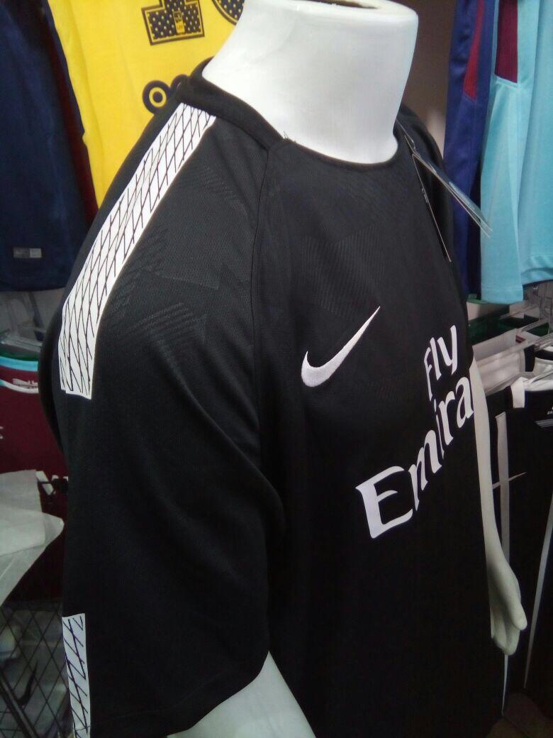 d1c14fa45b Camisa Nike Paris Saint-germain Third 2018 - Preta - R$ 120,00 em ...