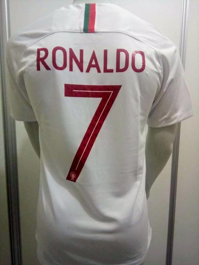 camisa nike portugal away 2018 cristiano ronaldo 7 oficial. Carregando zoom. 0f733894d5905