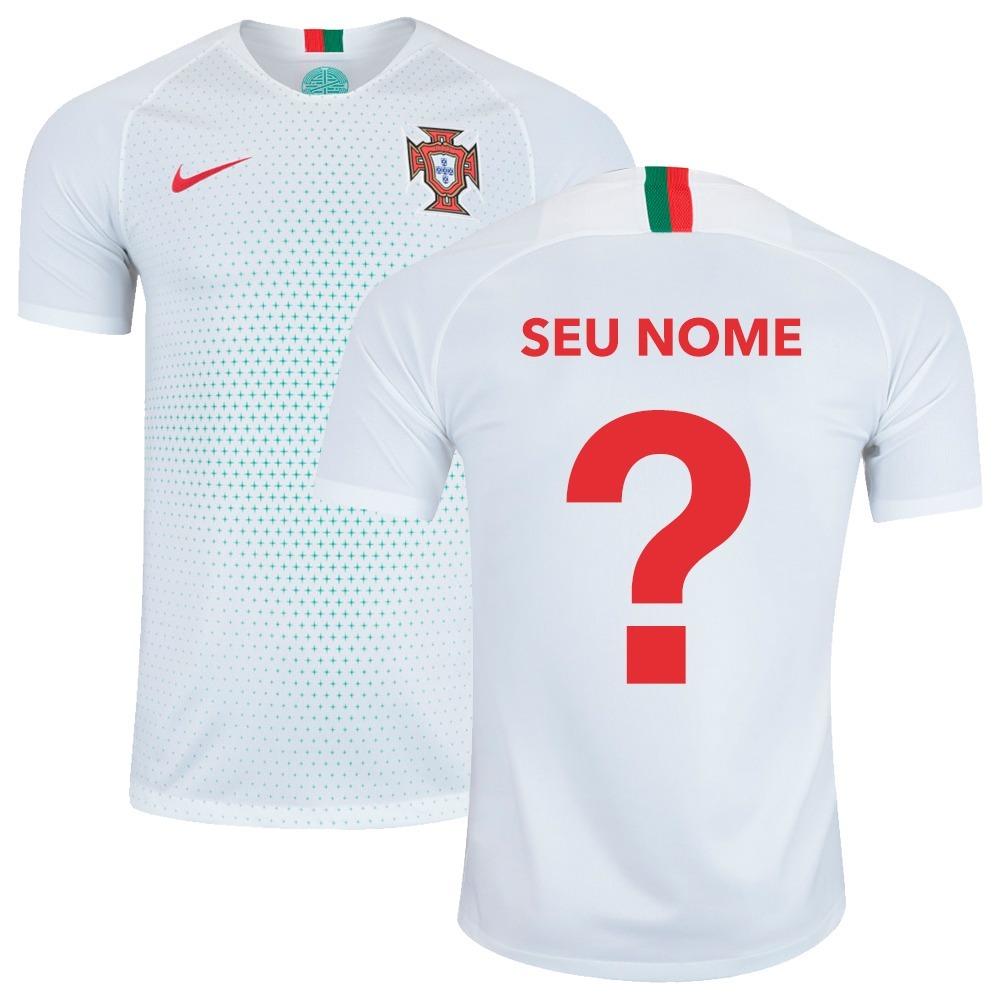 Camisa Nike Portugal Away 2018 Ronaldo Quaresma Original - R  139 53794b8c19861