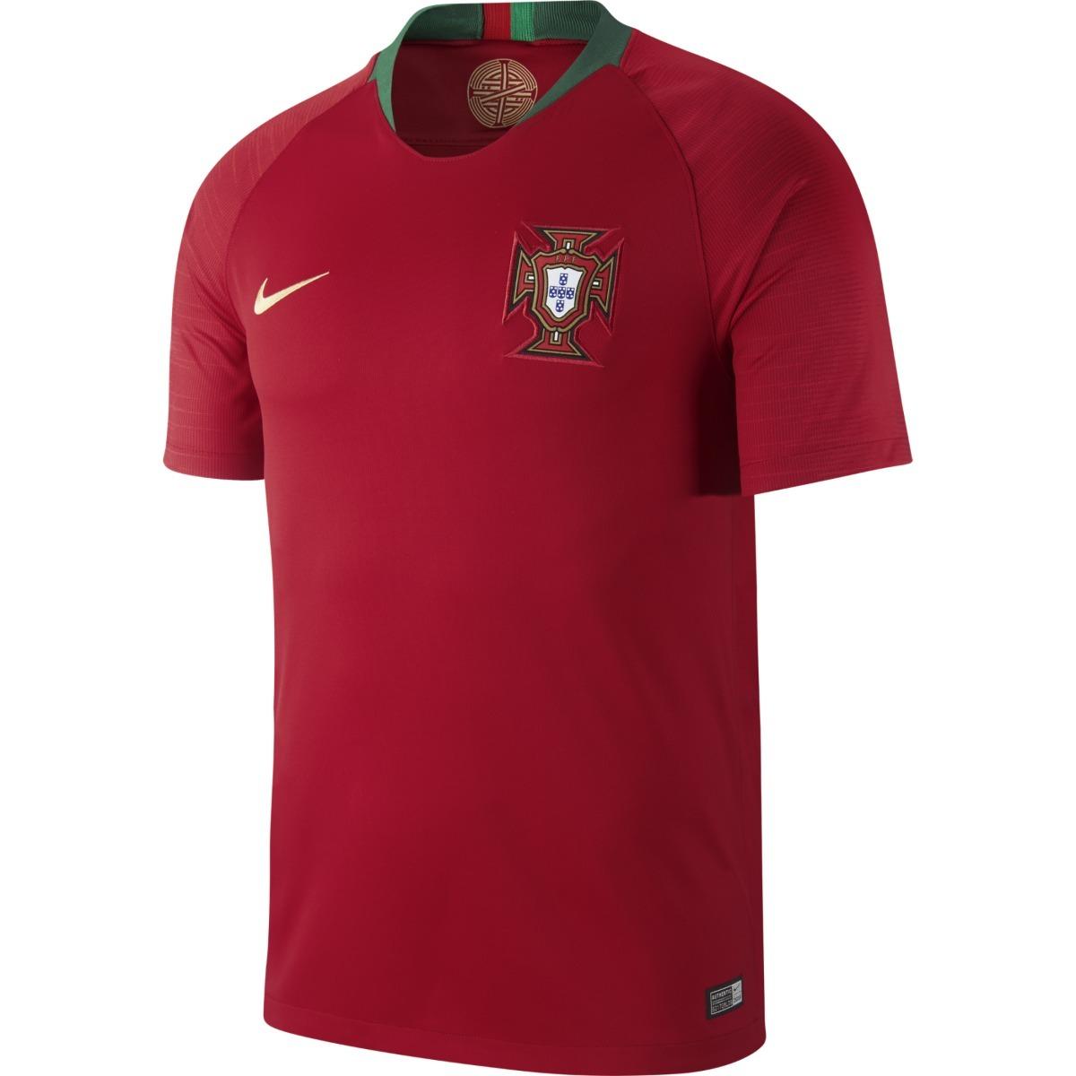 camisa nike portugal i 2018 torcedor - original. Carregando zoom. 1e9570c0b010c