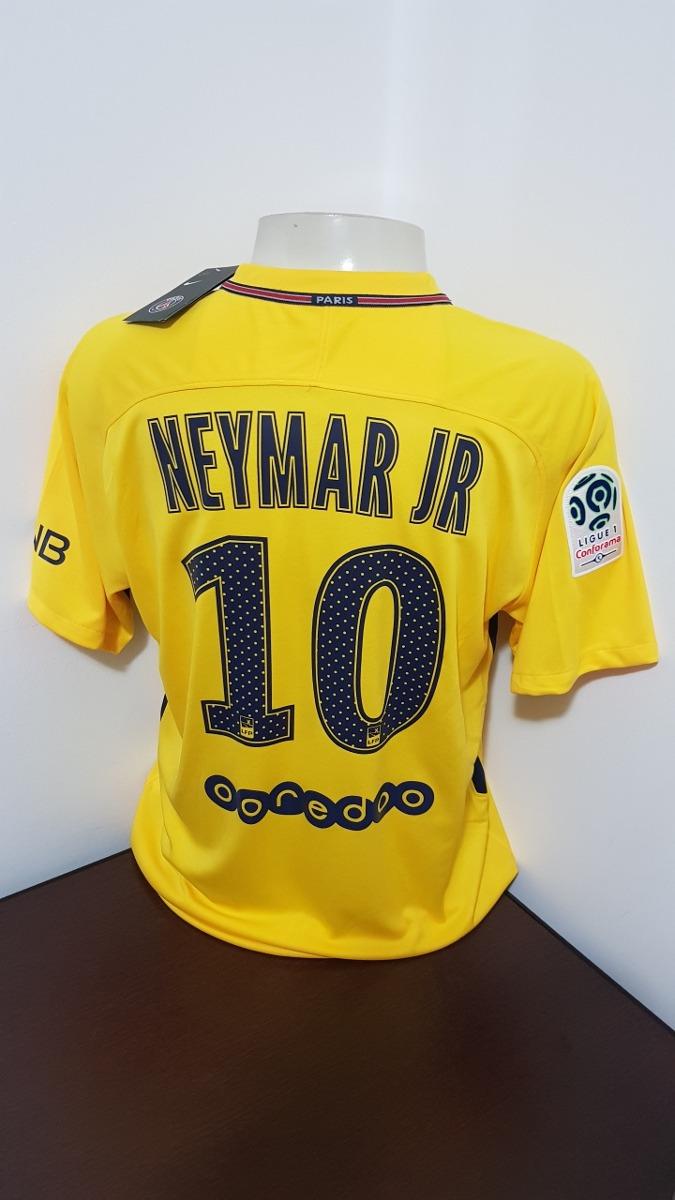 camisa nike psg amarela  neymar jr - gg. Carregando zoom. 865778169ff96