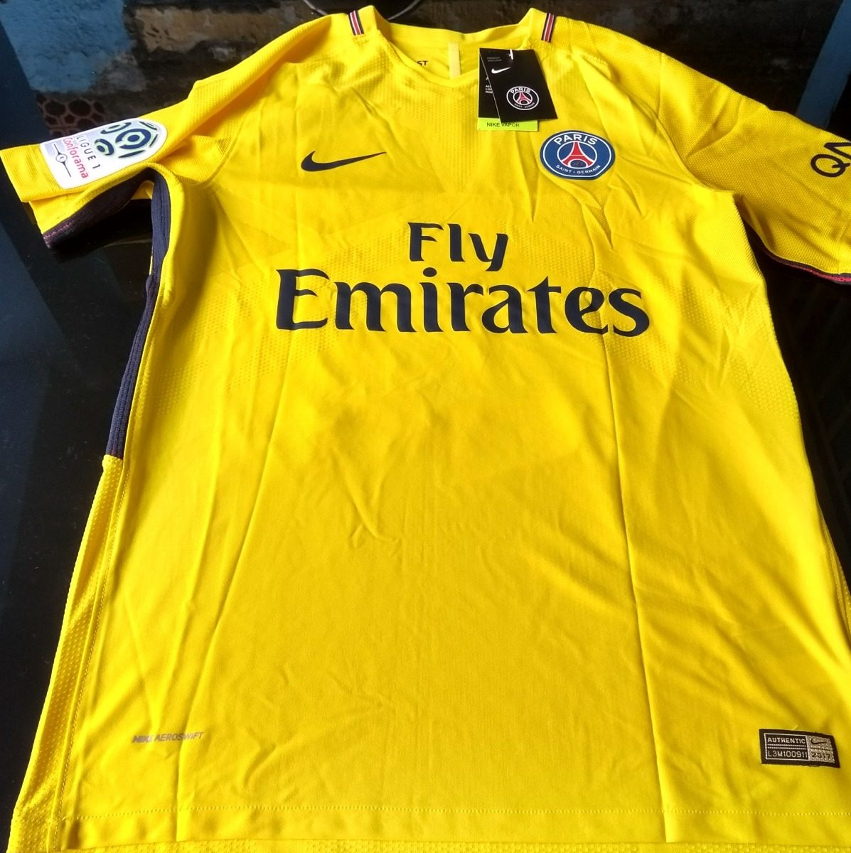 camisa nike psg away player version 10 neymar jr. Carregando zoom. 005dafa21416f