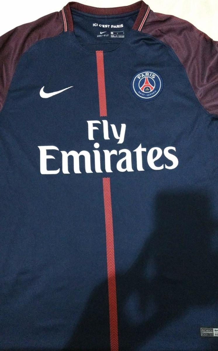 Camisa Nike Psg Home 17 18 - Personalizada Neymar Jr 10 - R  119 f653fc2717273