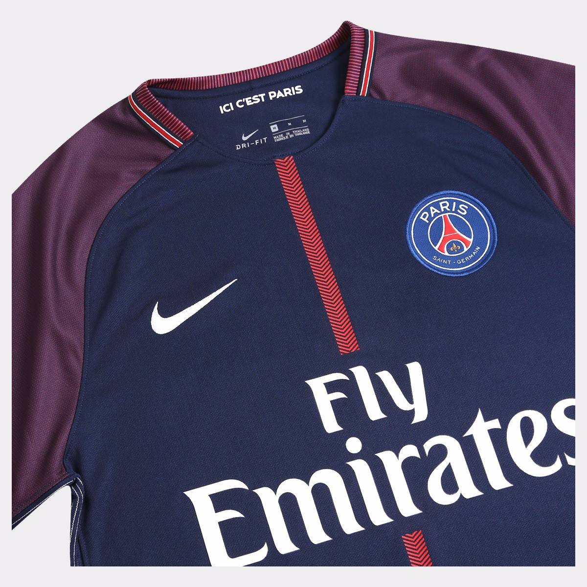 f94728999483c camisa nike psg paris saint germain 2018 - nº10 neymar jr. Carregando zoom.