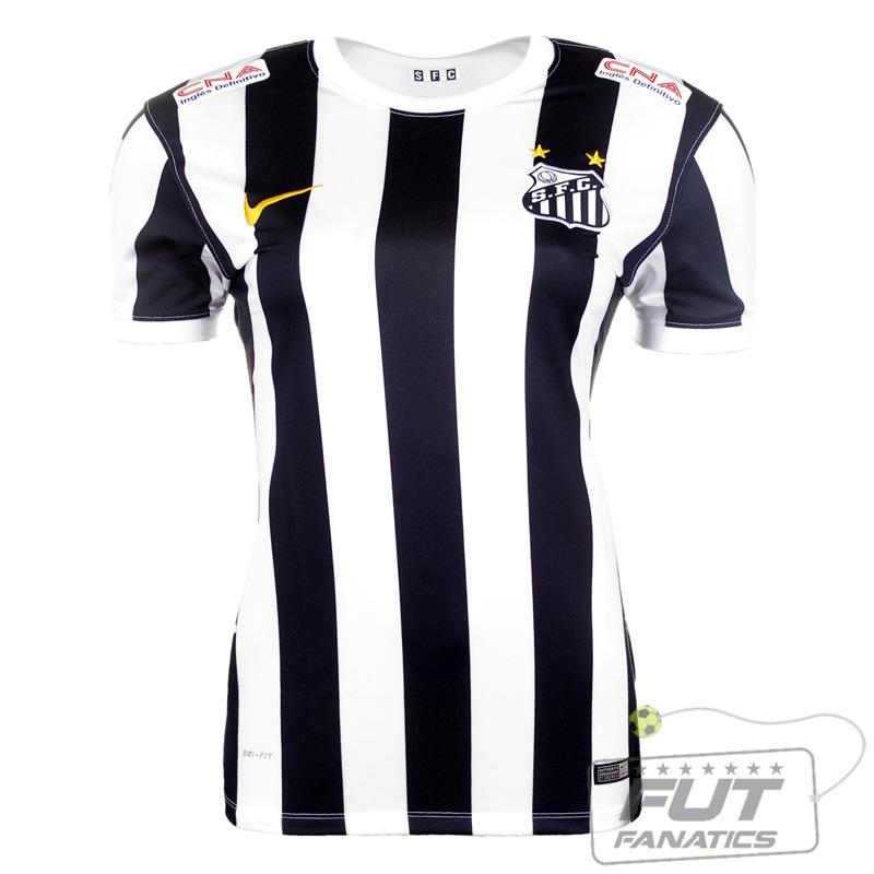 camisa nike santos ii 2014 feminina - futfanatics. Carregando zoom. 664cc0c465bed
