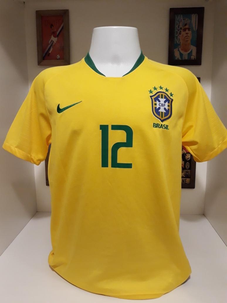 b44c5255bb0c7 camisa nike selecao brasil 12 marcelo. Carregando zoom.