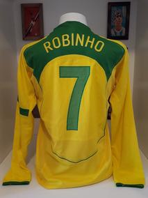 743beef1a Camisa Robinho Milan Times - De Seleções de Futebol no Mercado Livre Brasil