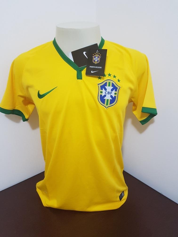 566eb01243 camisa nike seleçao brasileira 2014 - p. Carregando zoom.