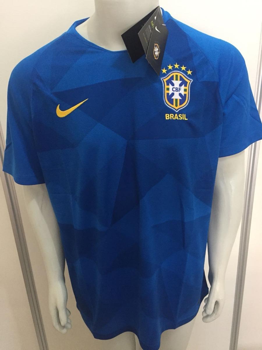 camisa nike seleção brasil away 2018 s n oficial copa russia. Carregando  zoom. b89d78fa65f30