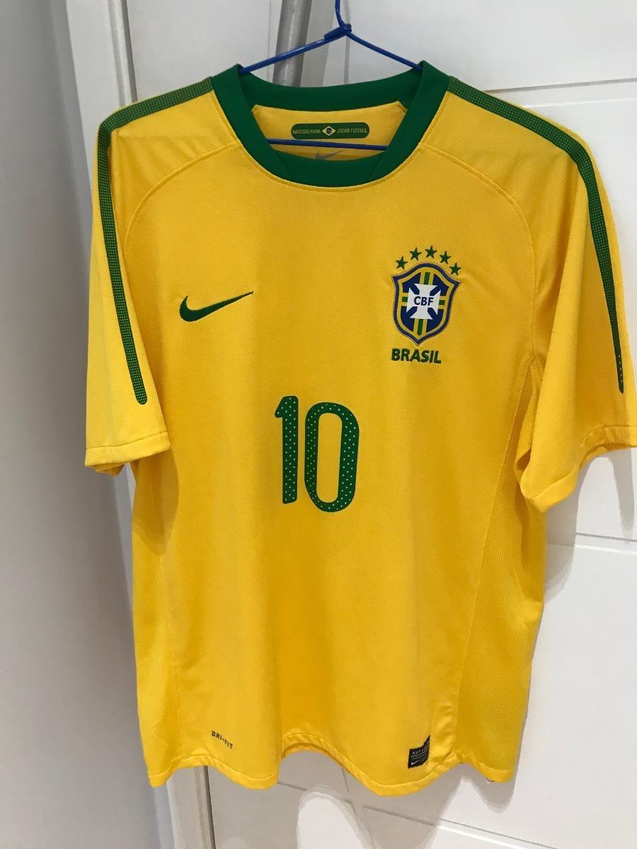 58b93cf7580a0 camisa nike seleção brasil copa 2010. Carregando zoom.
