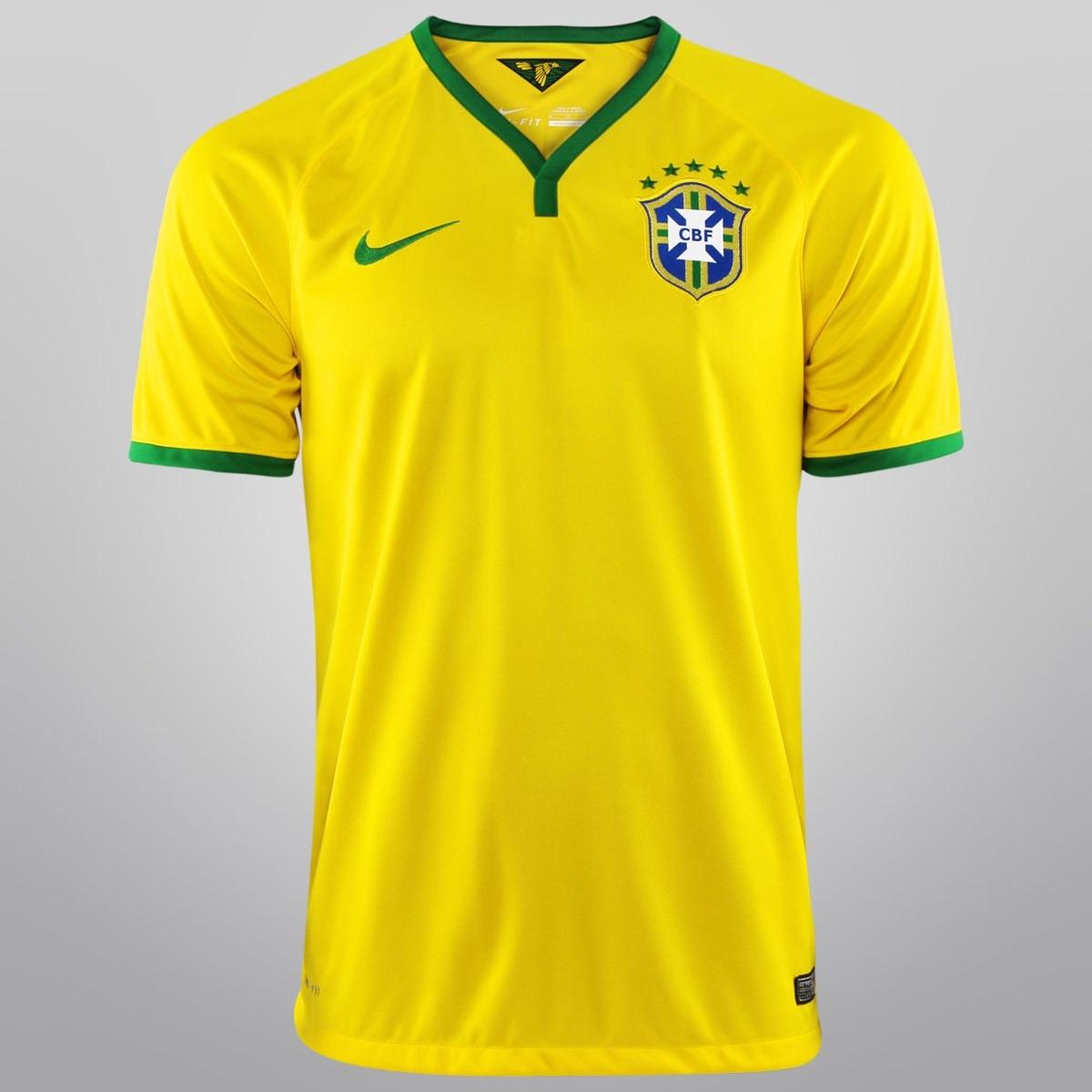 bf1601428a camisa nike seleção brasil i 14 15 nº 10 - torcedor original. Carregando  zoom.