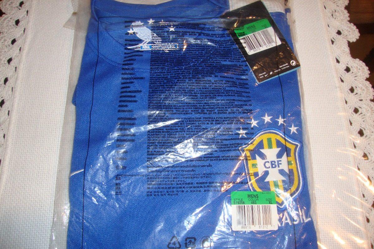 camisa nike seleção brasil ii 2013. Carregando zoom. bdd12b0bcf453