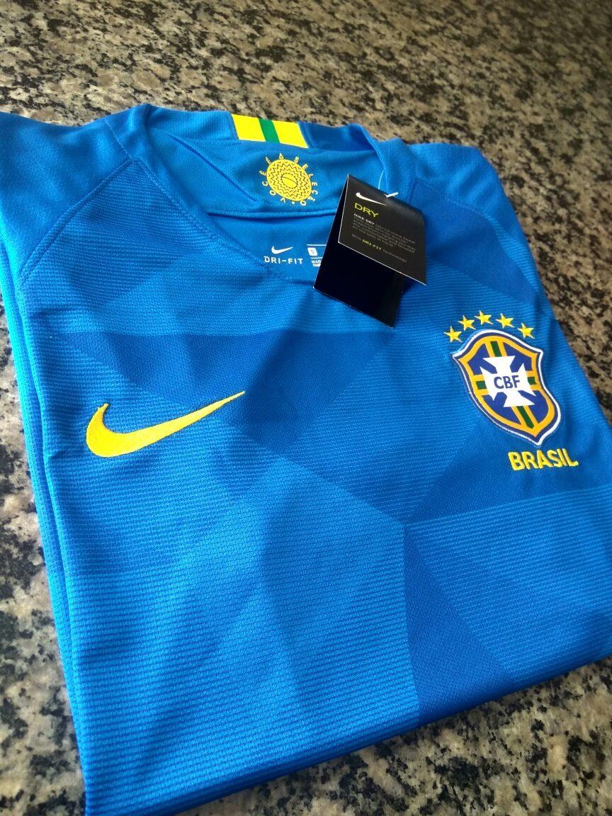 cff71cb8a2 camisa nike seleção brasileira away 2018 - original. Carregando zoom.