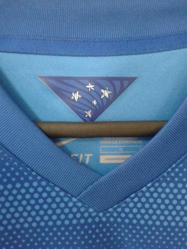 camisa nike seleção brasileira azul