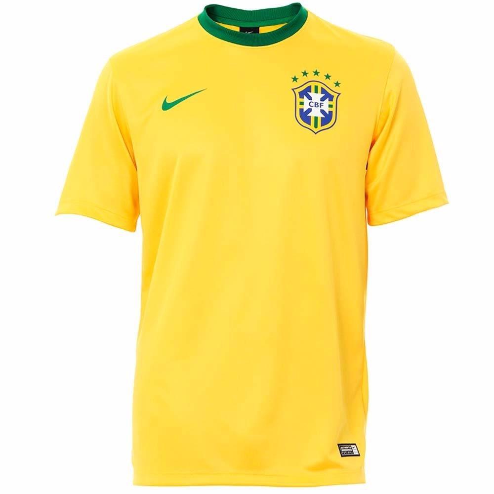 camisa nike seleção brasileira cbf brasil dri fit de 129 por. Carregando  zoom. 1321e0cc0e284
