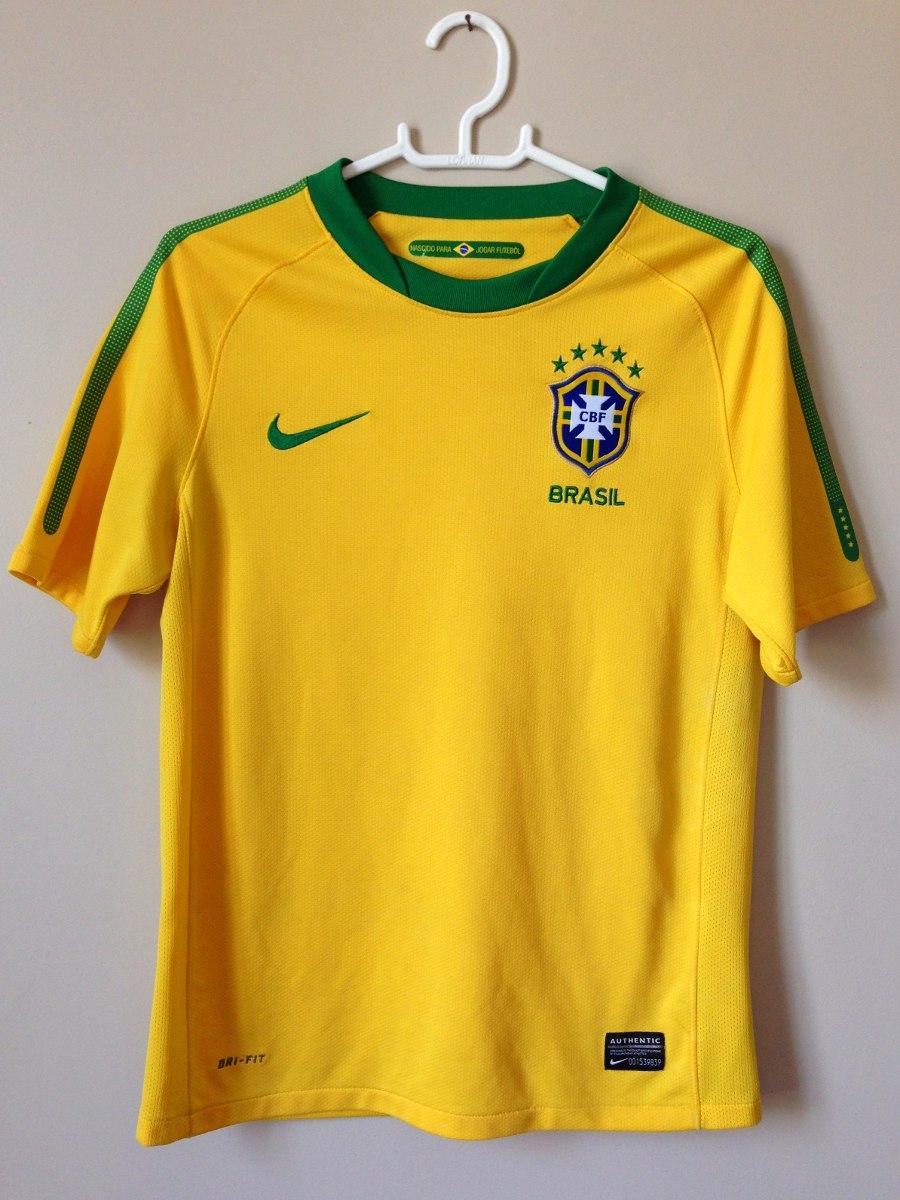 f58d4428fd232 camisa nike seleção brasileira dri-fit - copa do mundo 2010. Carregando  zoom.