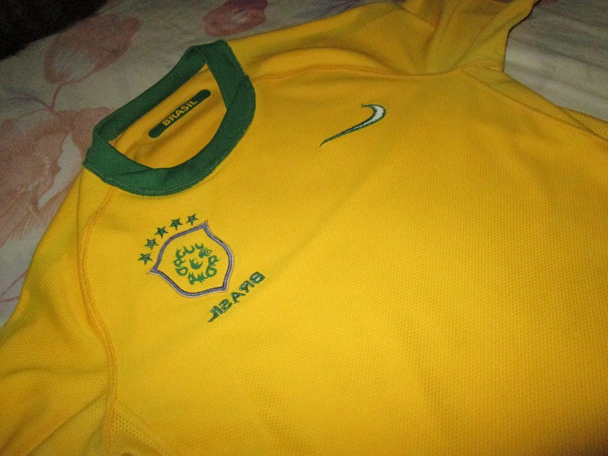 f4f1303a63 camisa nike seleção brasileira dri-fit - copa do mundo 2010. Carregando  zoom.