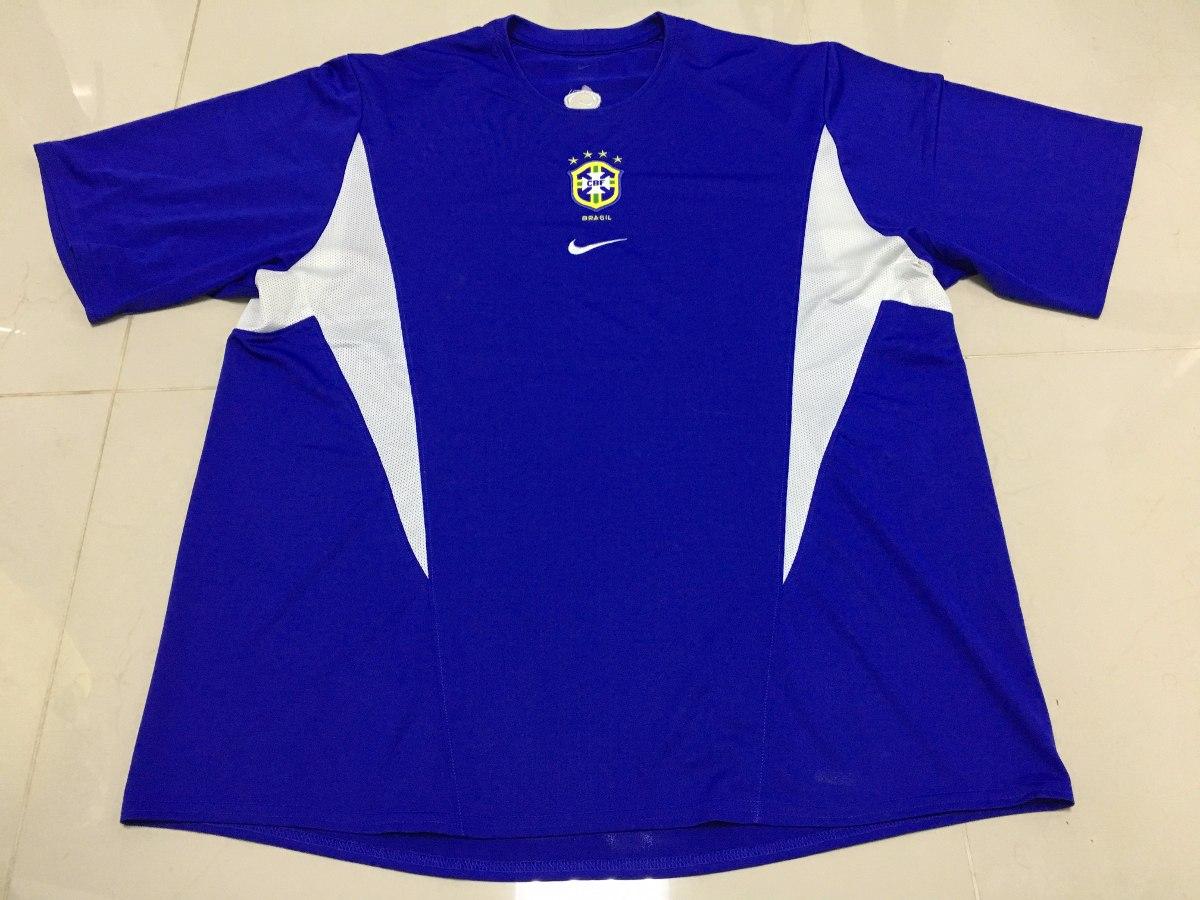 17e5c7f75ad70 camisa nike seleção brasileira futebol oficial azul gg. Carregando zoom.