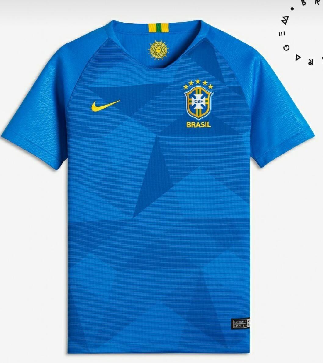 d9c66173692d9 camisa nike seleção brasileira oficial 2018 preço baixo. Carregando zoom.