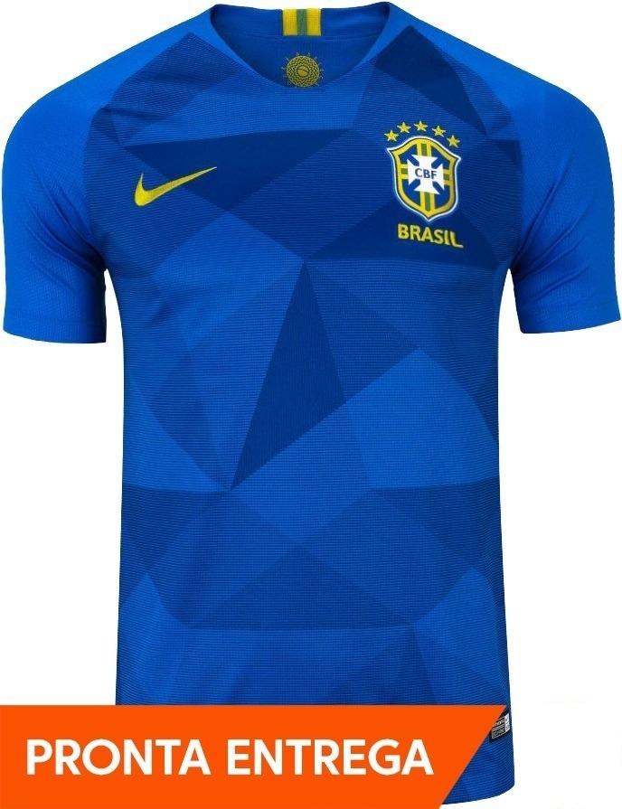 camisa nike seleção brasileira oficial 2018 - promoção. Carregando zoom. 436a09ce55365