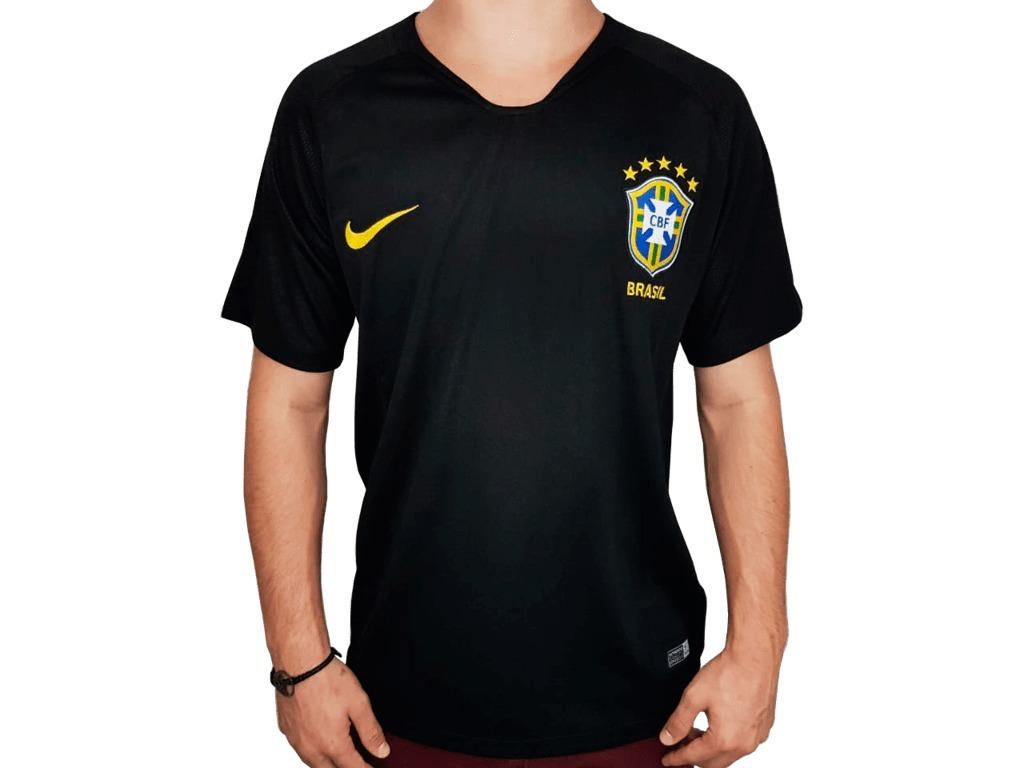 5aea29877 camisa nike seleção braslieira goleiro s nº oficial 2018. Carregando zoom.