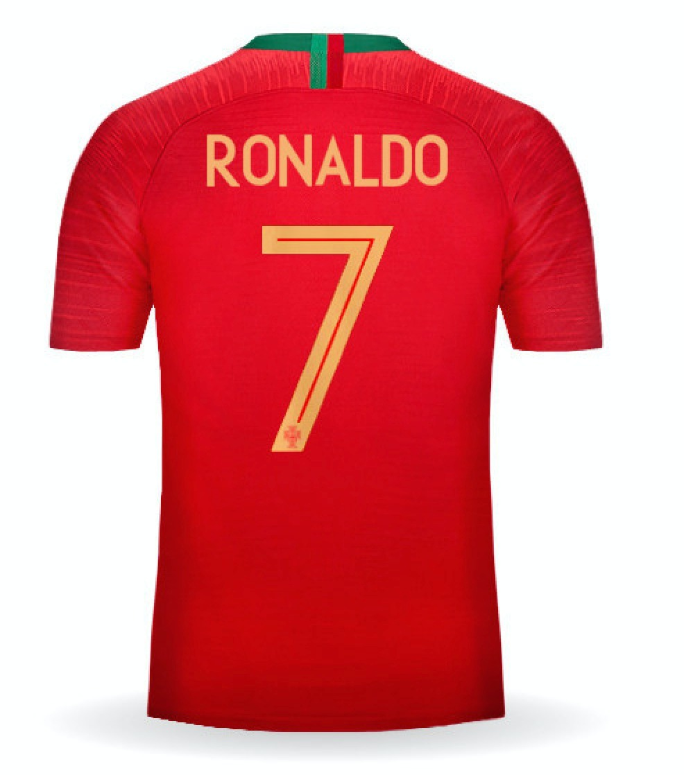 camisa nike seleção portugal 2018 oficial copa  7 ronaldo. Carregando zoom. 927046e9096b3