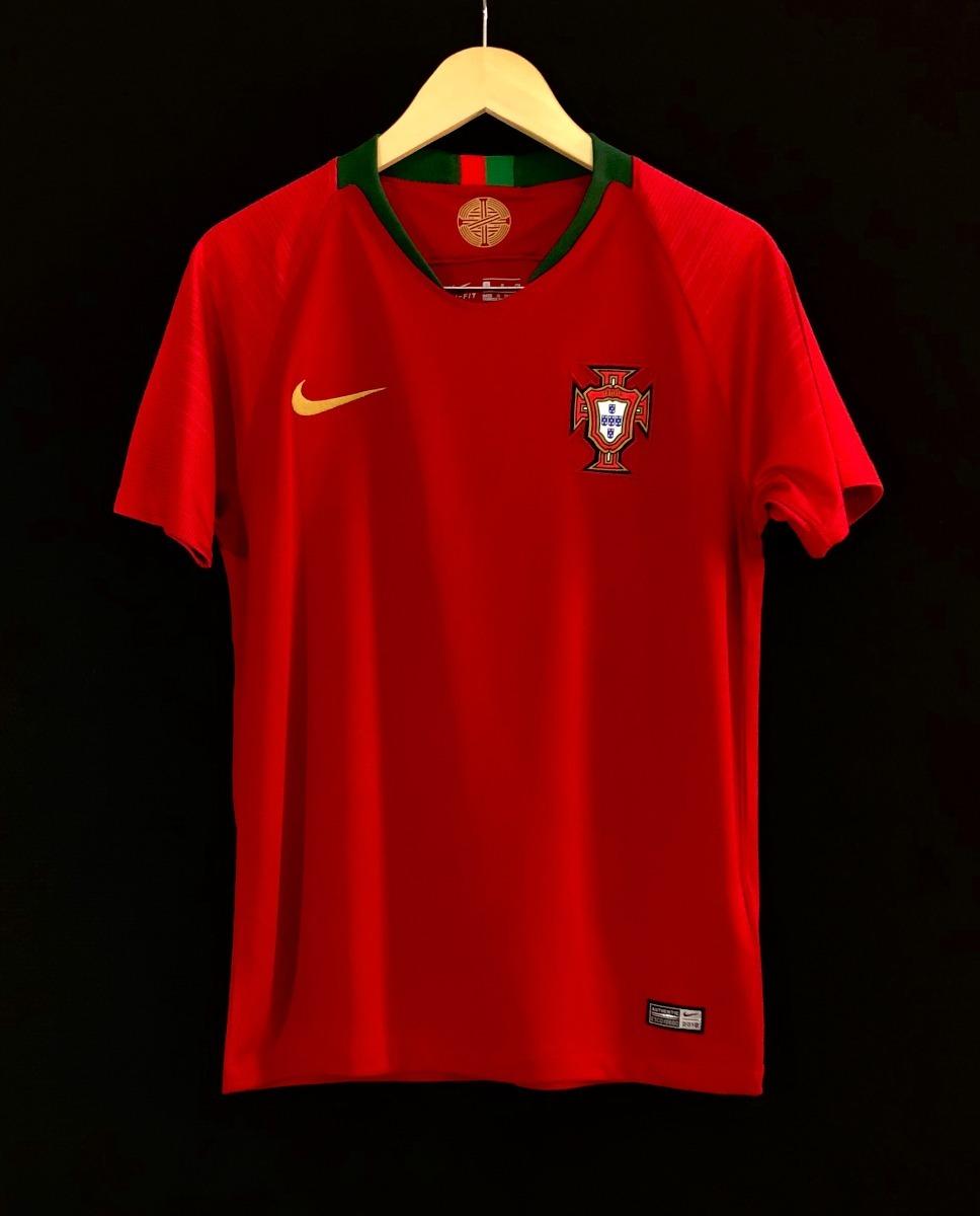 camisa nike seleção portugal 2018 oficial copa do mundo. Carregando zoom. 97337d8dfdb79