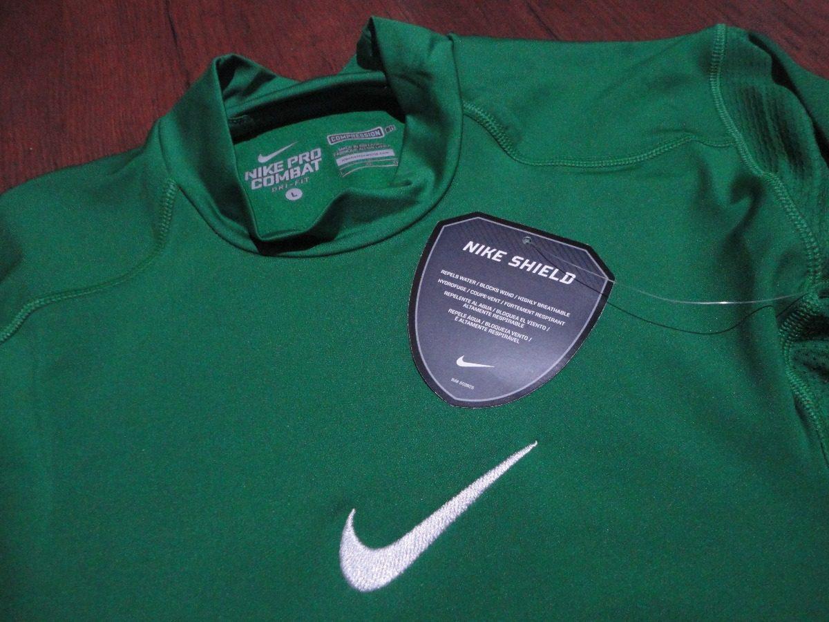 camisa nike shield térmica segunda pele mangas longas. Carregando zoom. 7cd8ff5672000