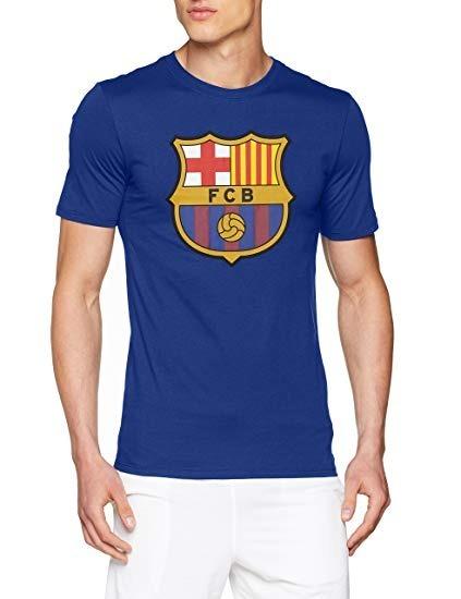 Camisa Nike Youth Fc Barcelona Crest - Original - Tamanho M - R  69 ... b9cbff1620a