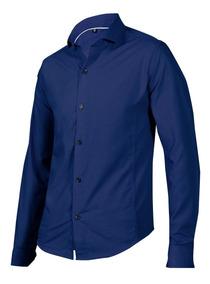 452dc0b5cf647 Camisa Hombre Color Azul Petroleo - Ropa y Accesorios en Mercado ...