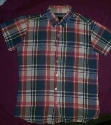 camisa niño hawk casi nuevo talla 16 s/30