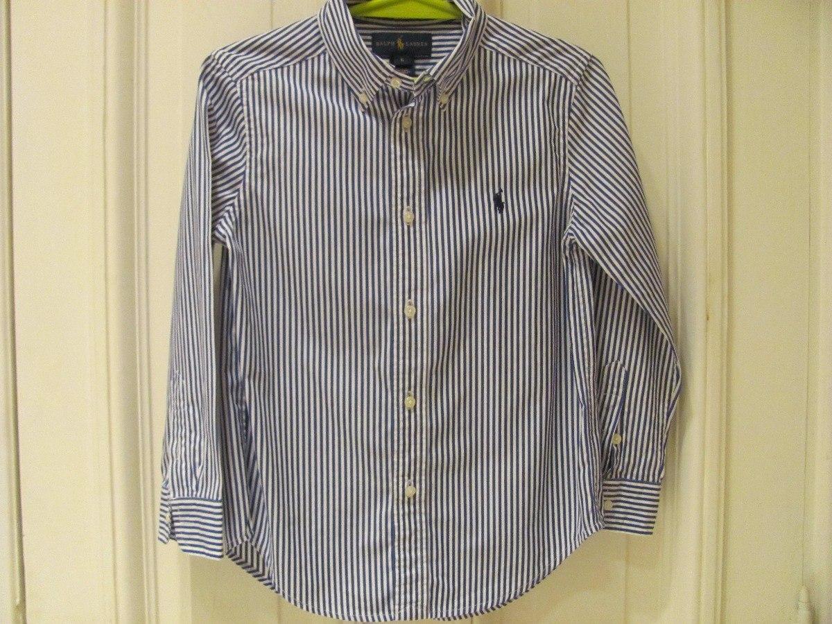 Camisa Niño Polo Ralph Lauren Original Talle 6 Años -   990,00 en ... fcddff322dc