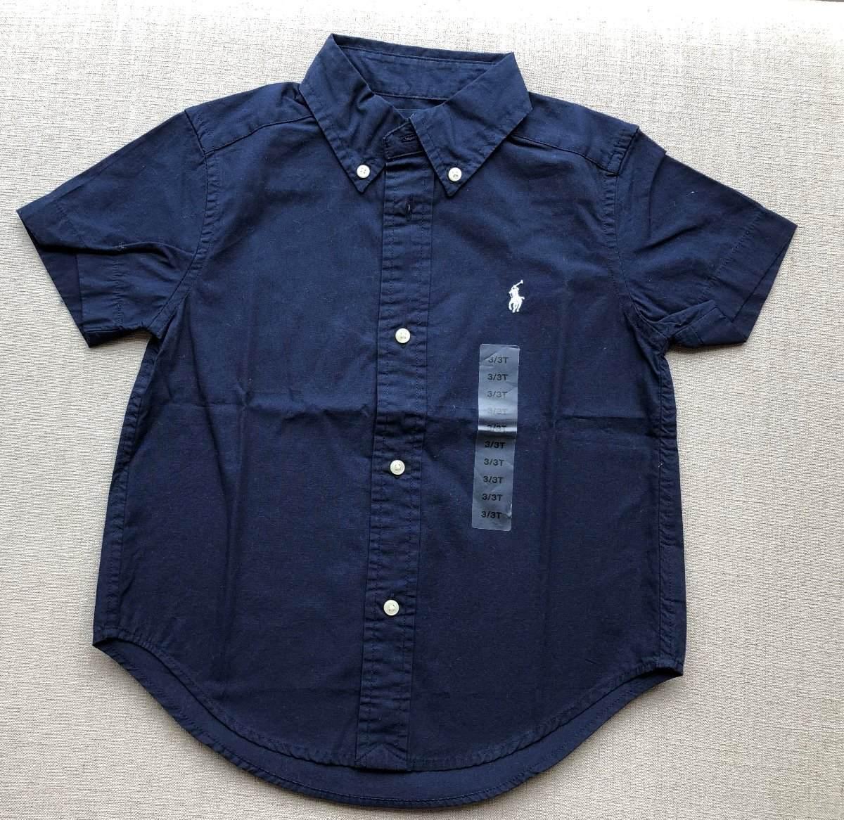 Camisa Nino Polo Ralph Lauren Talle 3 -   1.300,00 en Mercado Libre d493c32b040