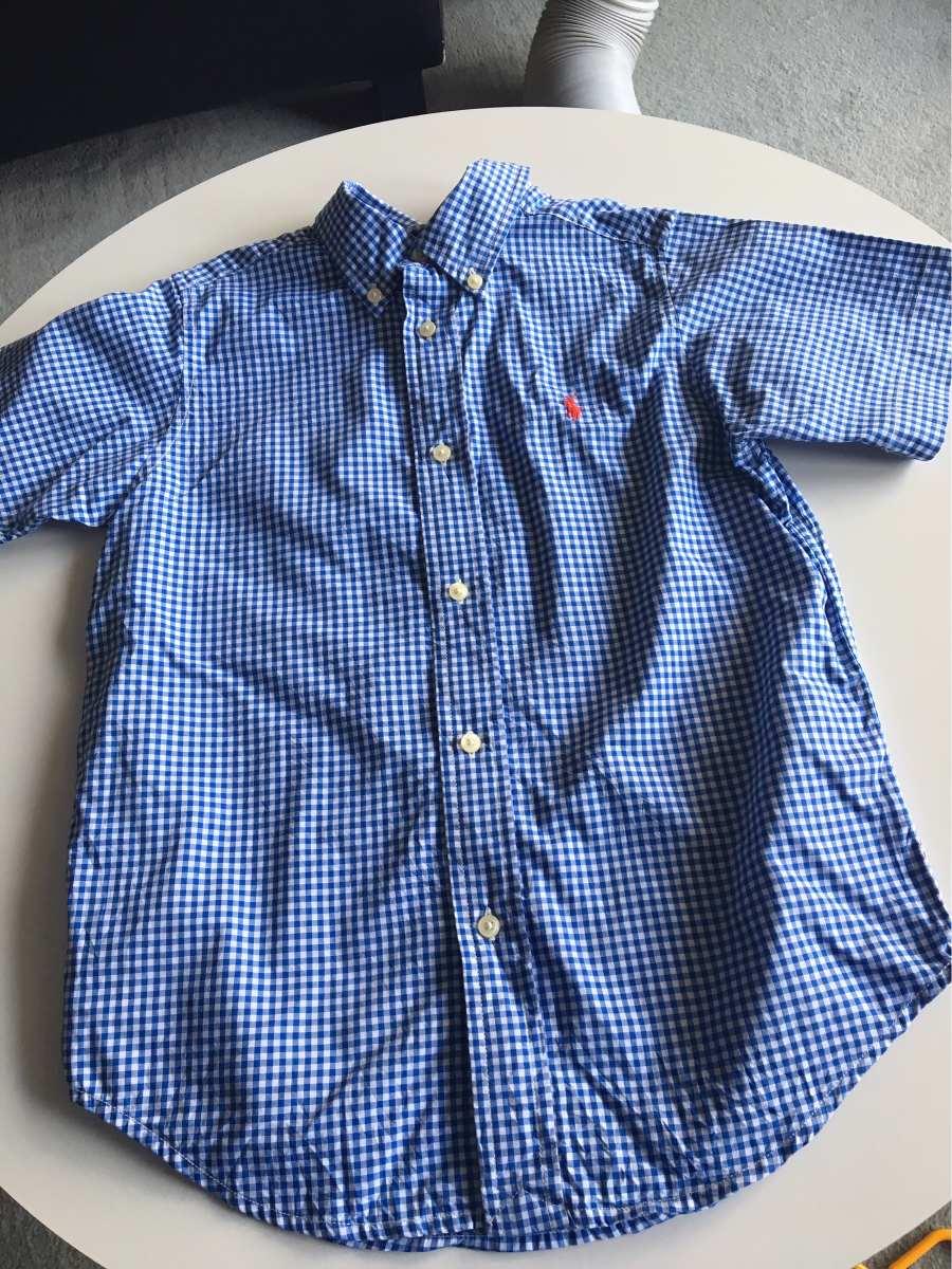 camisa niño talle 6, polo ralph lauren, importada impecable. Cargando zoom. 55ed5fa3e97