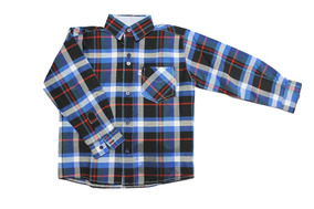 dcfbc6caf Camisas Cuadrille Para Niñas Rojas - Ropa y Accesorios en Mercado ...