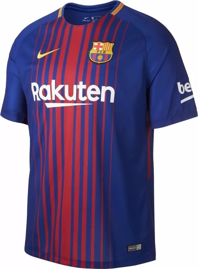d6abc0de97 Camisa Nova Barcelona -2017-18 Pronta Entrega - Original - R  199