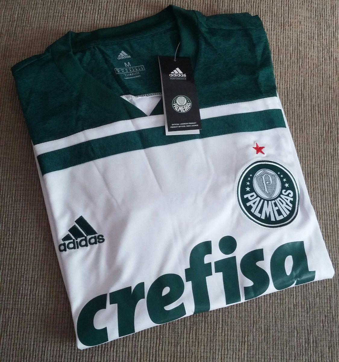 Camisa Nova Palmeiras 2018 - Branca - R  149 2ce5d10768a74