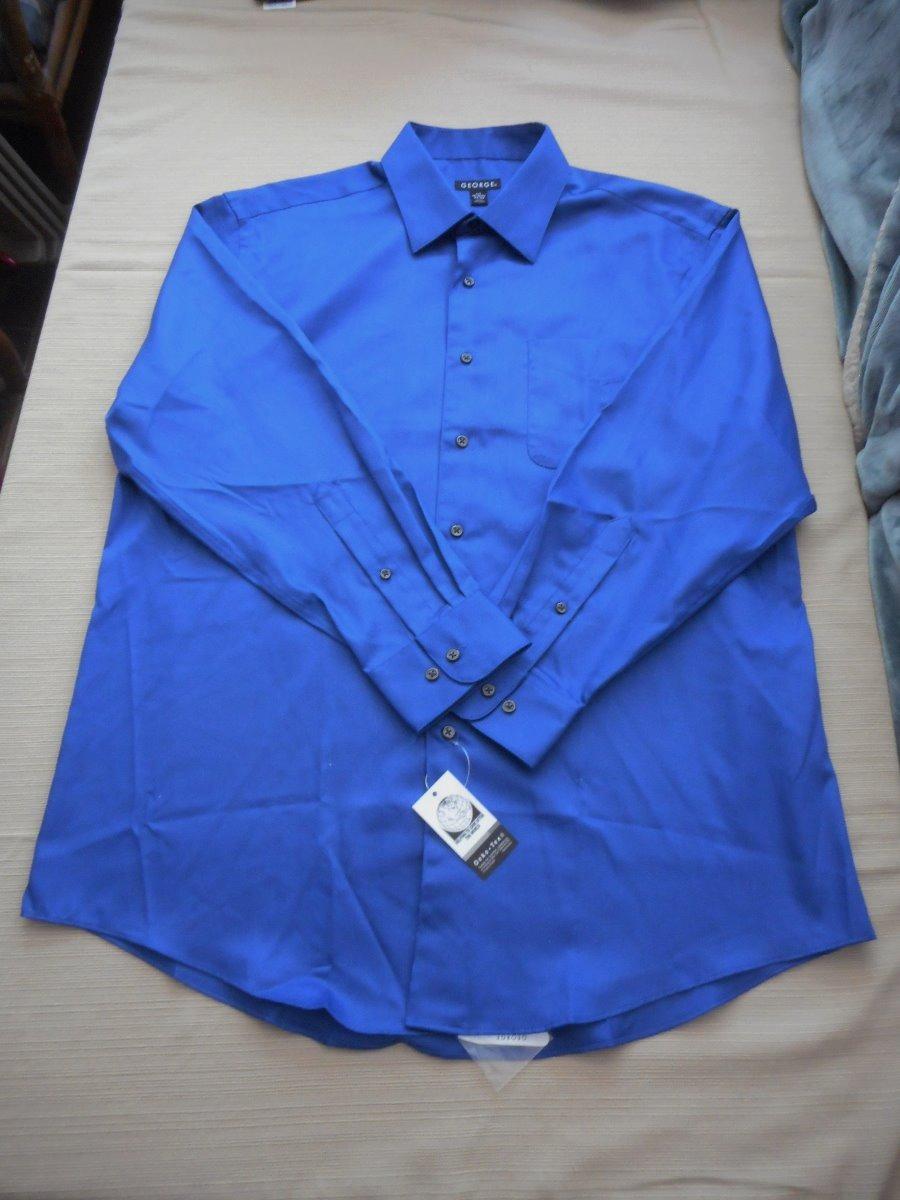 chic clásico alta calidad calidad estable Camisa Nueva Marca George Talla L