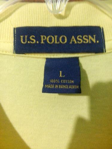 camisa nueva tipo polo marca u.s polo assn talla l