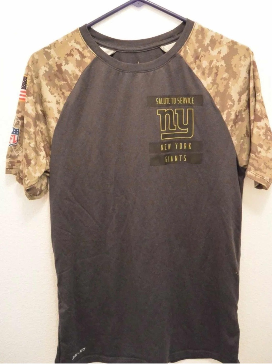 official photos b4884 343e7 Camisa Ny Giants Nfl Salute To Service Nike Dri-fit P Adulto
